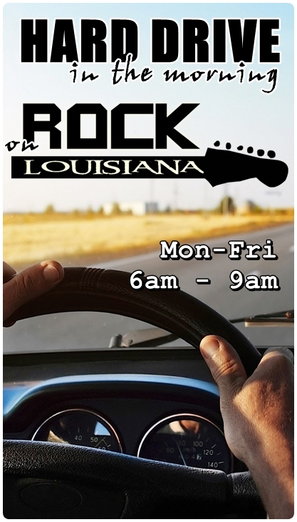 hard drive radio show on rock louisiana