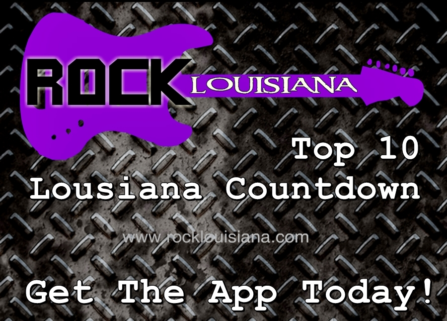 Rock Louisiana Countdown Show – Top Ten Show 1